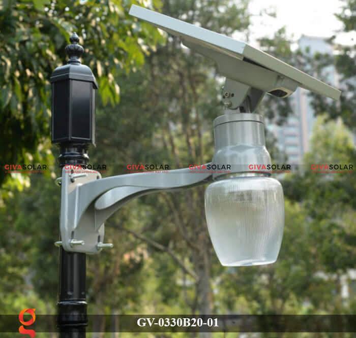 Đèn chiếu sáng đường năng lượng mặt trời GV-0330B20-01 4