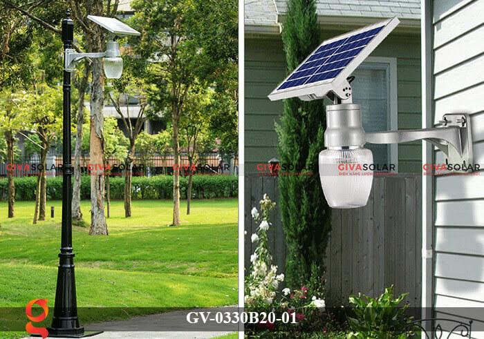 Đèn chiếu sáng đường năng lượng mặt trời GV-0330B20-01 6