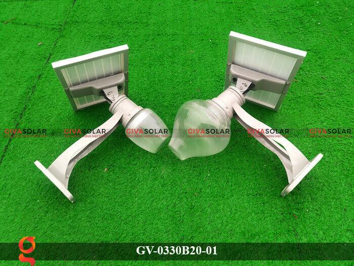 Đèn chiếu sáng đường năng lượng mặt trời GV-0330B20-01 8