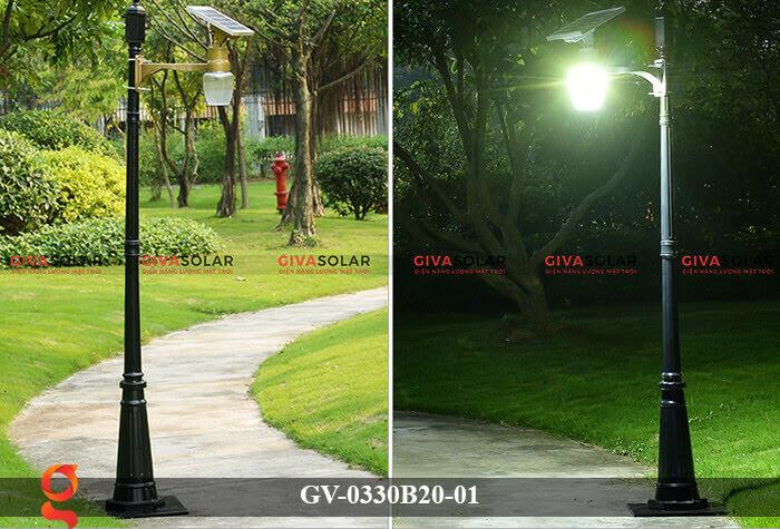 Đèn chiếu sáng đường năng lượng mặt trời GV-0330B20-01 9