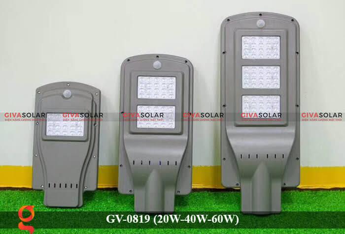 Đèn chiếu sáng đường phố năng lượng mặt trời GV-0819 20W 40W 60W 7