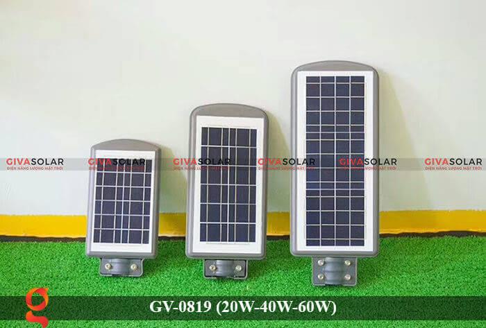 Đèn chiếu sáng đường phố năng lượng mặt trời GV-0819 20W 40W 60W 8