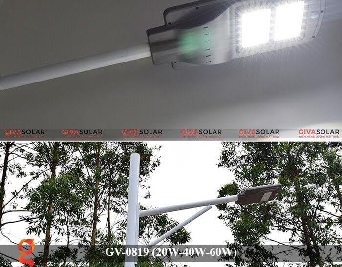 Đèn chiếu sáng đường phố năng lượng mặt trời GV-0819 20W 40W 60W 2
