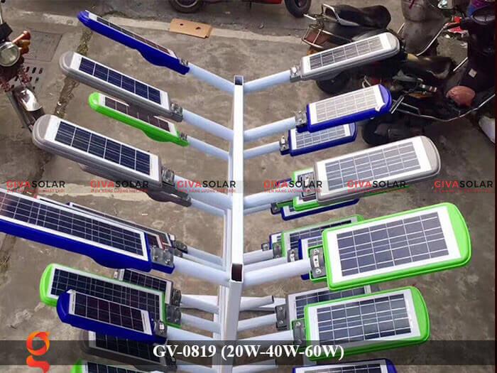 Đèn chiếu sáng đường phố năng lượng mặt trời GV-0819 20W 40W 60W 3