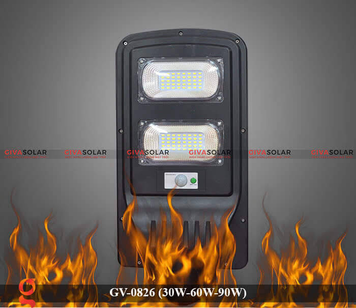 Đèn chiếu sáng đường phố năng lượng mặt trời GV-0826 30W-60W-90W 13