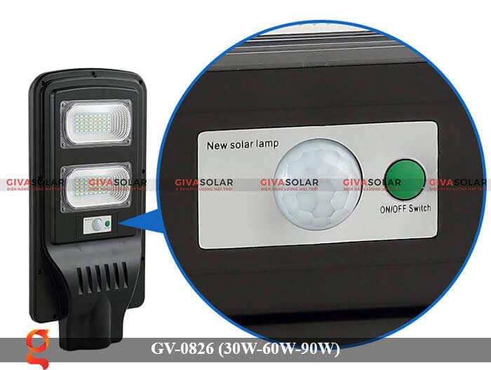 Đèn chiếu sáng đường phố năng lượng mặt trời GV-0826 30W-60W-90W 15