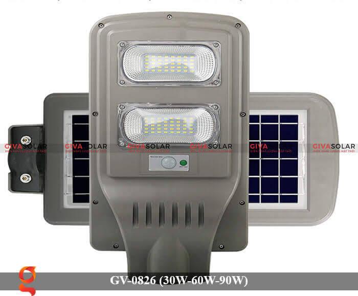 Đèn chiếu sáng đường phố năng lượng mặt trời GV-0826 30W-60W-90W 16