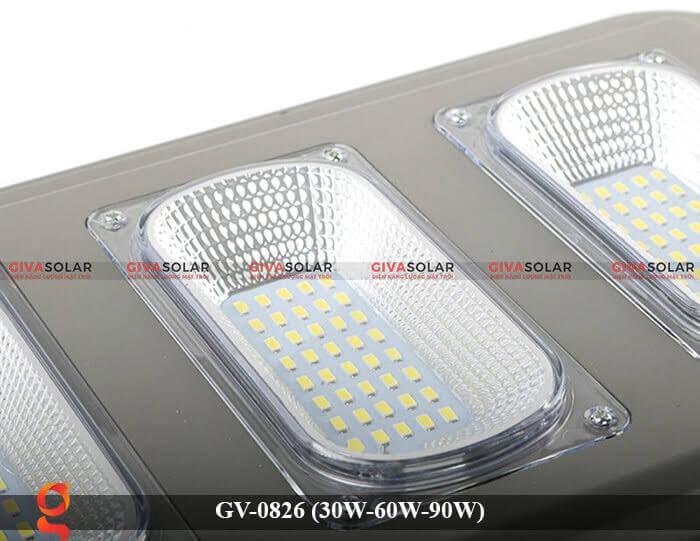Đèn chiếu sáng đường phố năng lượng mặt trời GV-0826 30W-60W-90W 18