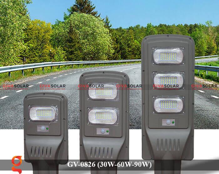 Đèn chiếu sáng đường phố năng lượng mặt trời GV-0826 30W-60W-90W 5