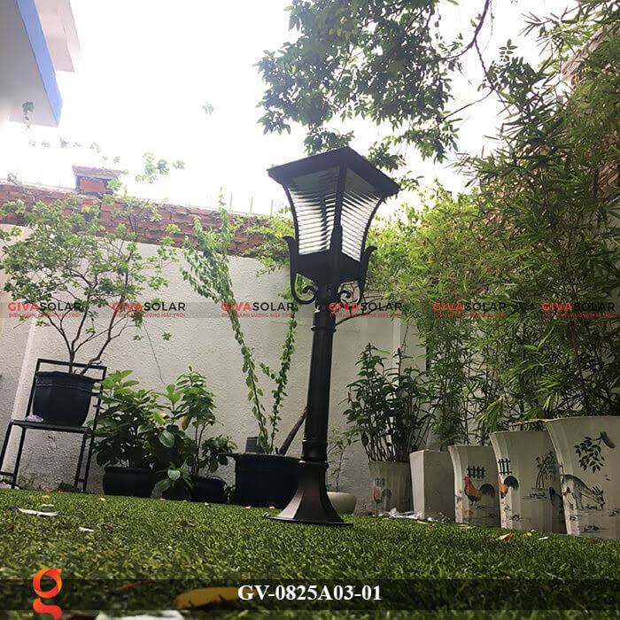 Đèn năng lượng mặt trời sân vườn GV-0825A03-01 1