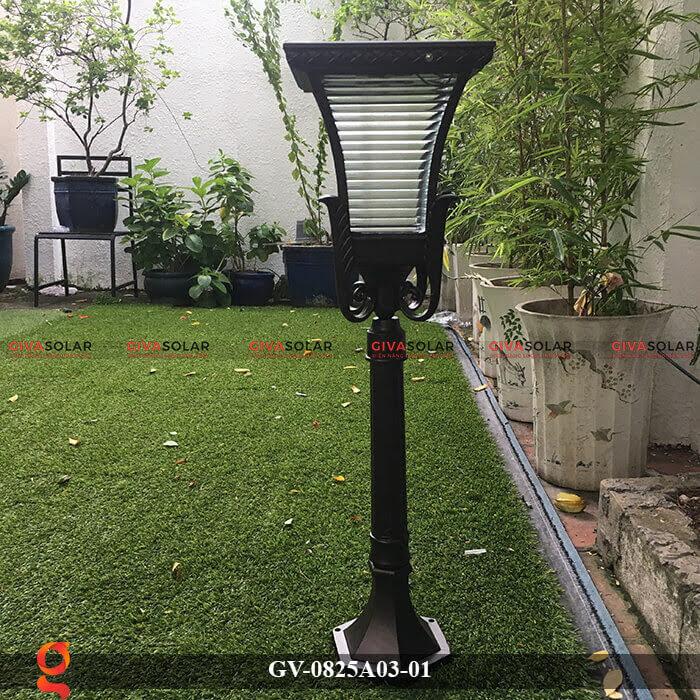 Đèn năng lượng mặt trời sân vườn GV-0825A03-01 2