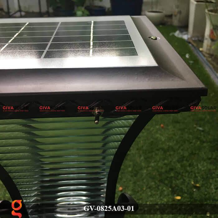Đèn năng lượng mặt trời sân vườn GV-0825A03-01 3