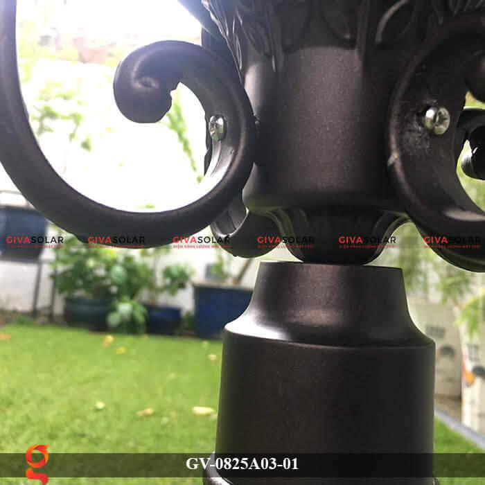 Đèn năng lượng mặt trời sân vườn GV-0825A03-01 7