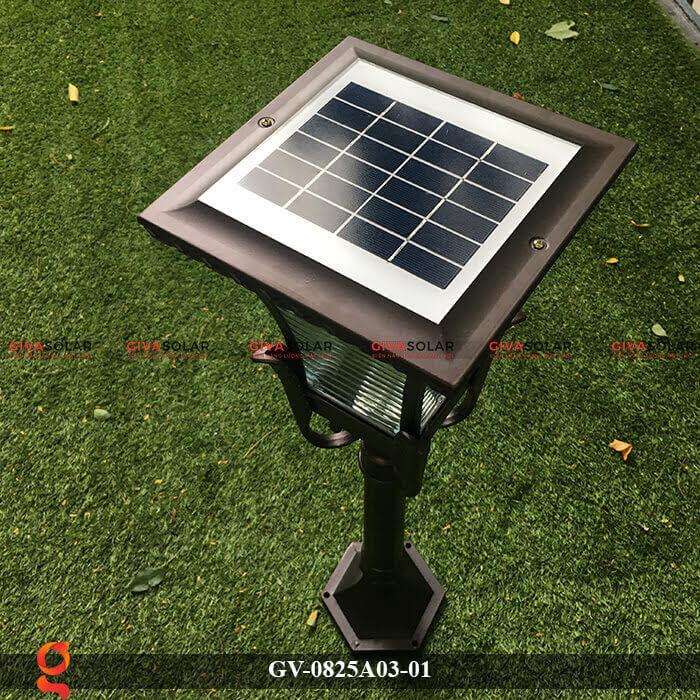 Đèn năng lượng mặt trời sân vườn GV-0825A03-01 8