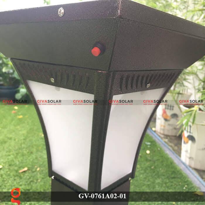 Đèn năng lượng mặt trời trang trí sân vườn GV-0761A02-01 5