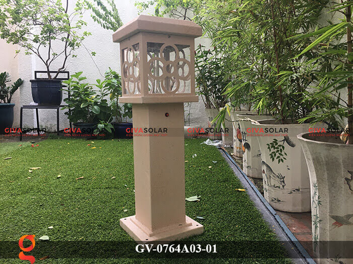 Đèn năng lượng mặt trời trang trí sân vườn GV-0764A03-01 3