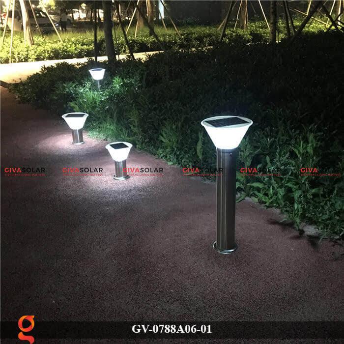 Đèn năng lượng mặt trời trang trí sân vườn GV-0788A06-01 11