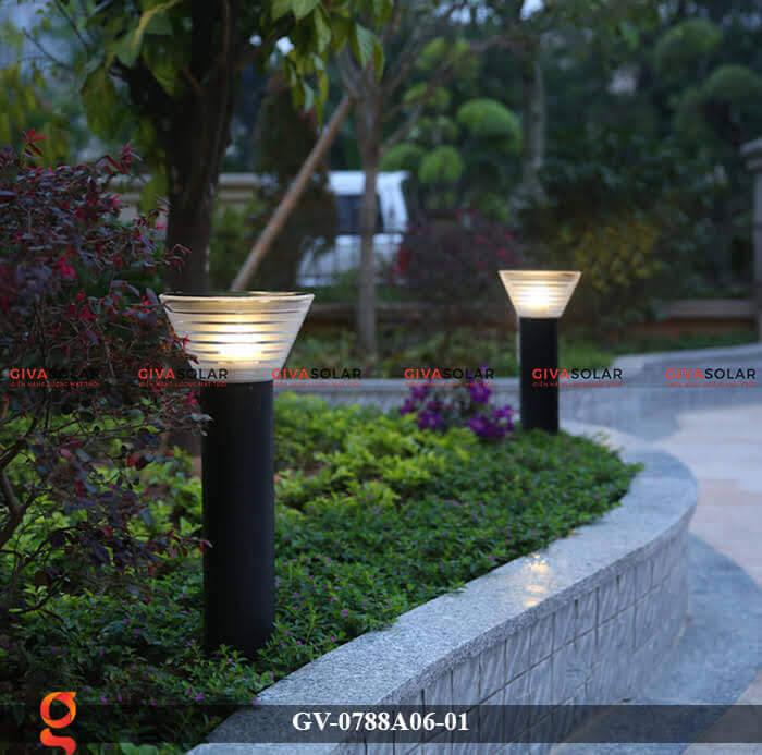Đèn năng lượng mặt trời trang trí sân vườn GV-0788A06-01 4