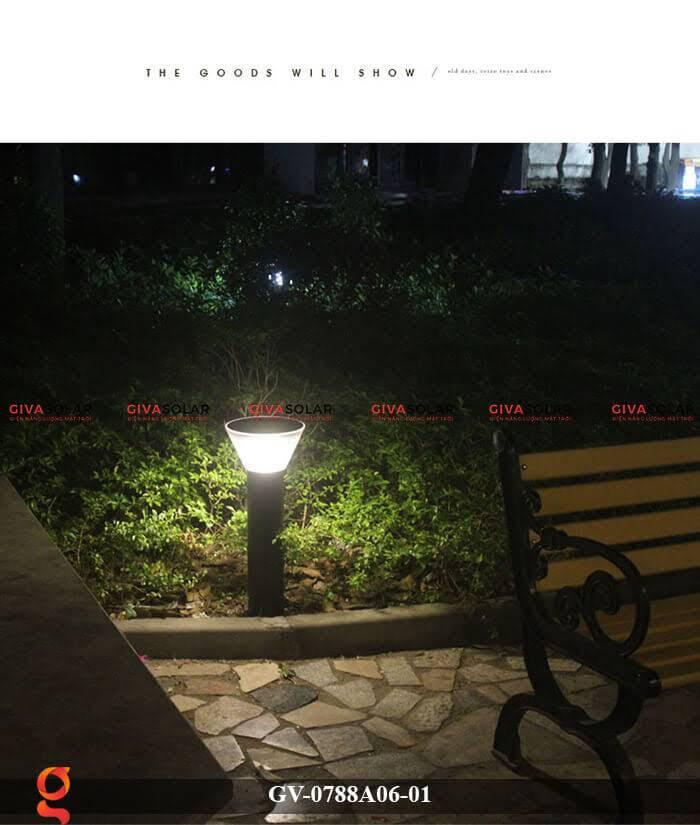 Đèn năng lượng mặt trời trang trí sân vườn GV-0788A06-01 8