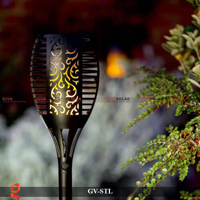 Đèn ngọn lửa trang trí năng lượng mặt trời GV-STL 1