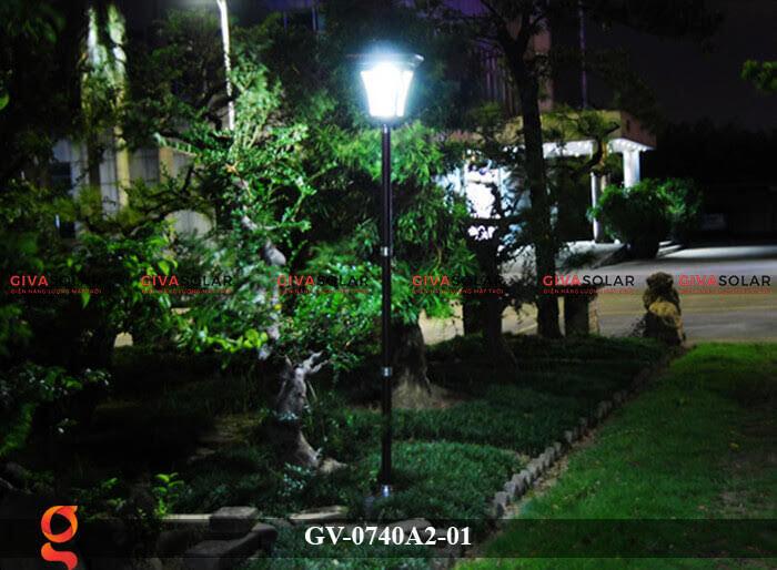 Đèn sân vườn năng lượng mặt trời GV-0740A2-01 10