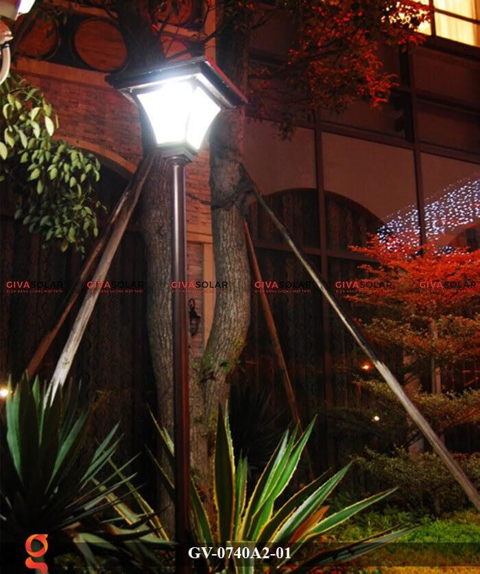 Đèn sân vườn năng lượng mặt trời GV-0740A2-01 11