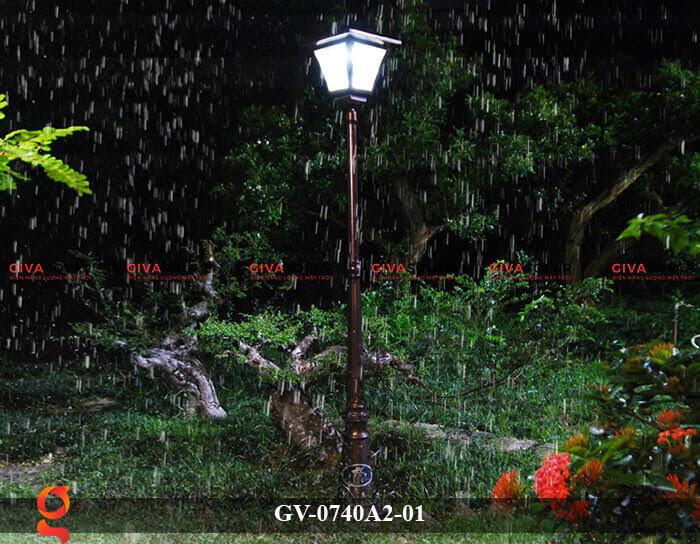 Đèn sân vườn năng lượng mặt trời GV-0740A2-01 4