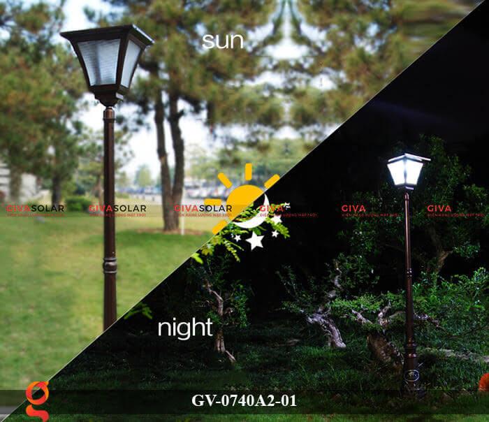 Đèn sân vườn năng lượng mặt trời GV-0740A2-01 5