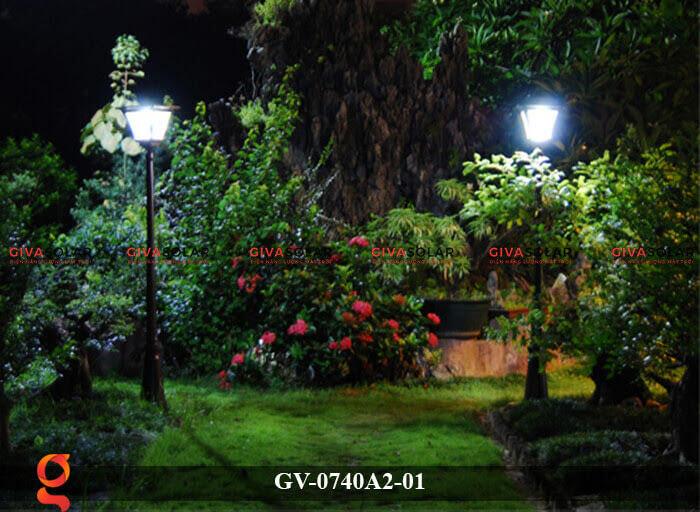 Đèn sân vườn năng lượng mặt trời GV-0740A2-01 6