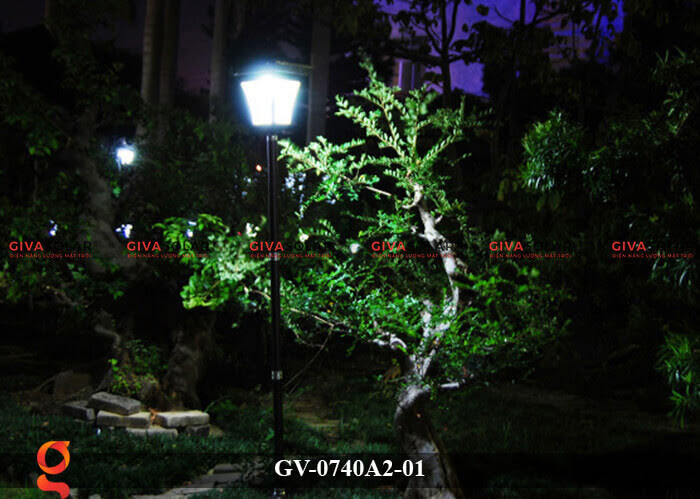 Đèn sân vườn năng lượng mặt trời GV-0740A2-01 7