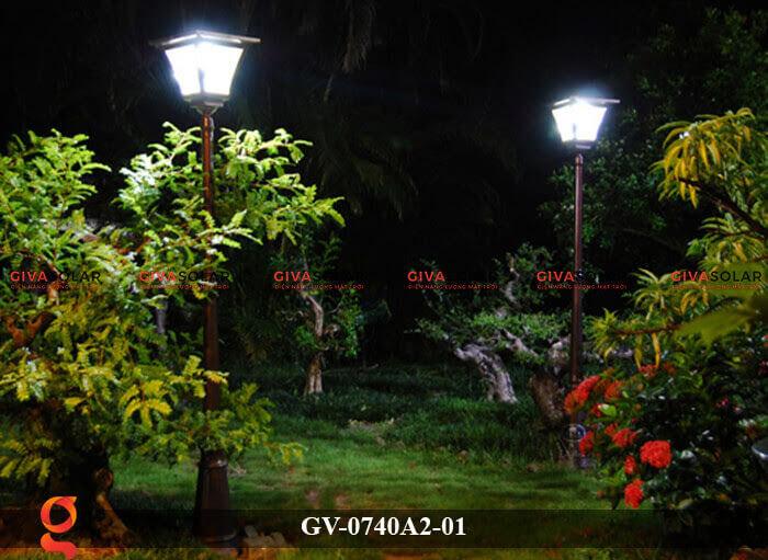 Đèn sân vườn năng lượng mặt trời GV-0740A2-01 8