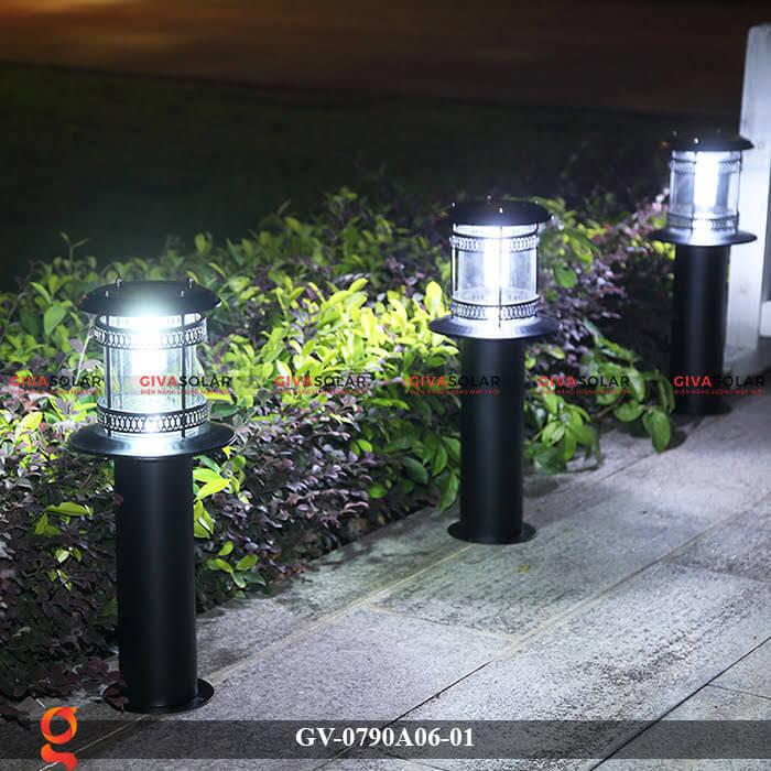 Đèn sân vườn năng lượng mặt trời GV-0790A06-01 1