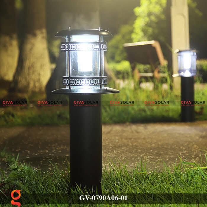 Đèn sân vườn năng lượng mặt trời GV-0790A06-01 2