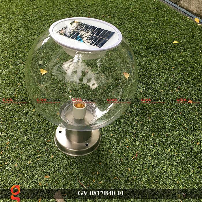 Đèn trang trí trụ cổng năng lượng mặt trời GV-0817B40-01 6