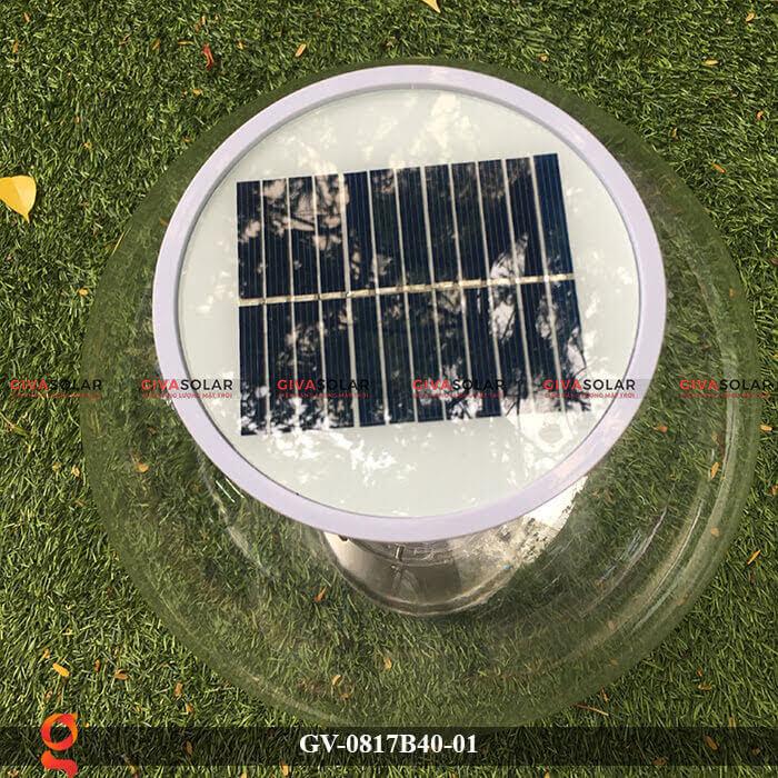 Đèn trang trí trụ cổng năng lượng mặt trời GV-0817B40-01 7
