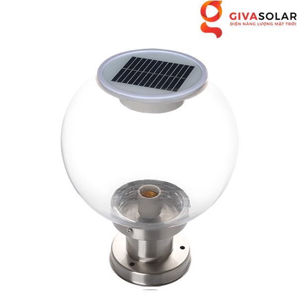 Đèn trang trí trụ cổng năng lượng mặt trời GV-GL0817B40-01