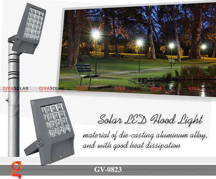 Đèn treo tường trang trí năng lượng mặt trời GV-0823 1