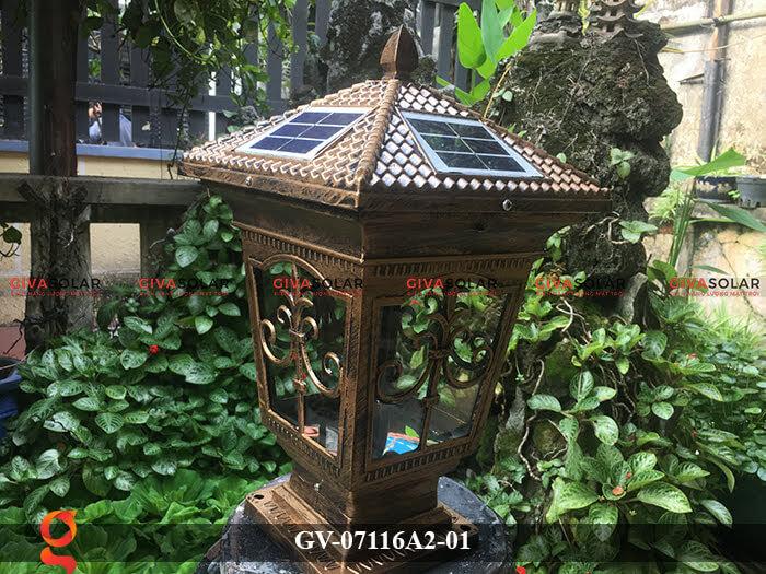 Đèn trụ cổng năng lượng mặt trời GV-07116A2-01 6