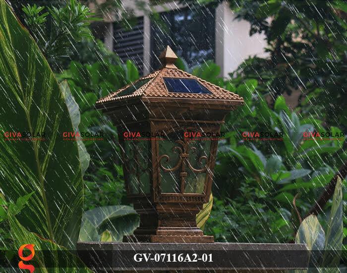 Đèn trụ cổng năng lượng mặt trời GV-07116A2-01 3