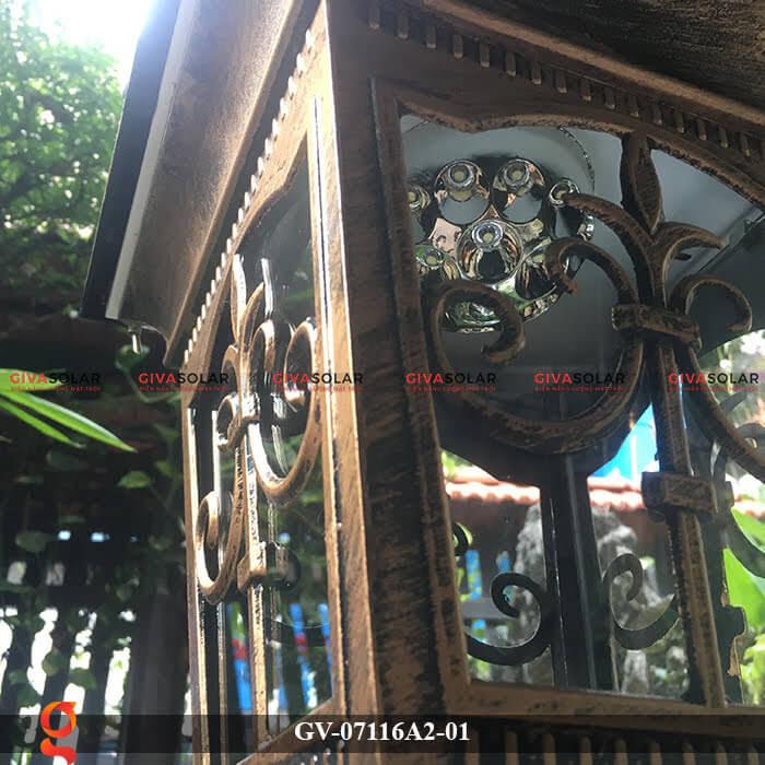Đèn trụ cổng năng lượng mặt trời GV-07116A2-01 8