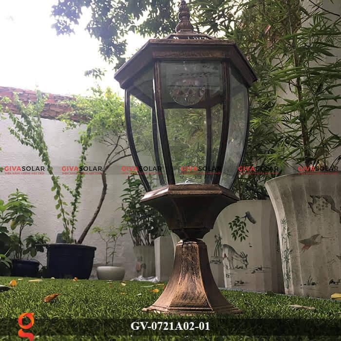 Đèn trụ cổng năng lượng mặt trời GV-0721A02-01 1