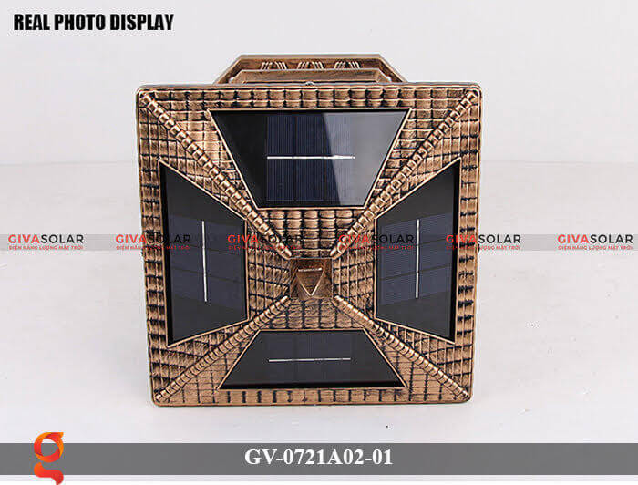 Đèn trụ cổng năng lượng mặt trời GV-0721A02-01 12
