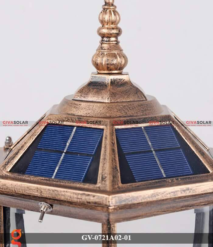 Đèn trụ cổng năng lượng mặt trời GV-0721A02-01 4