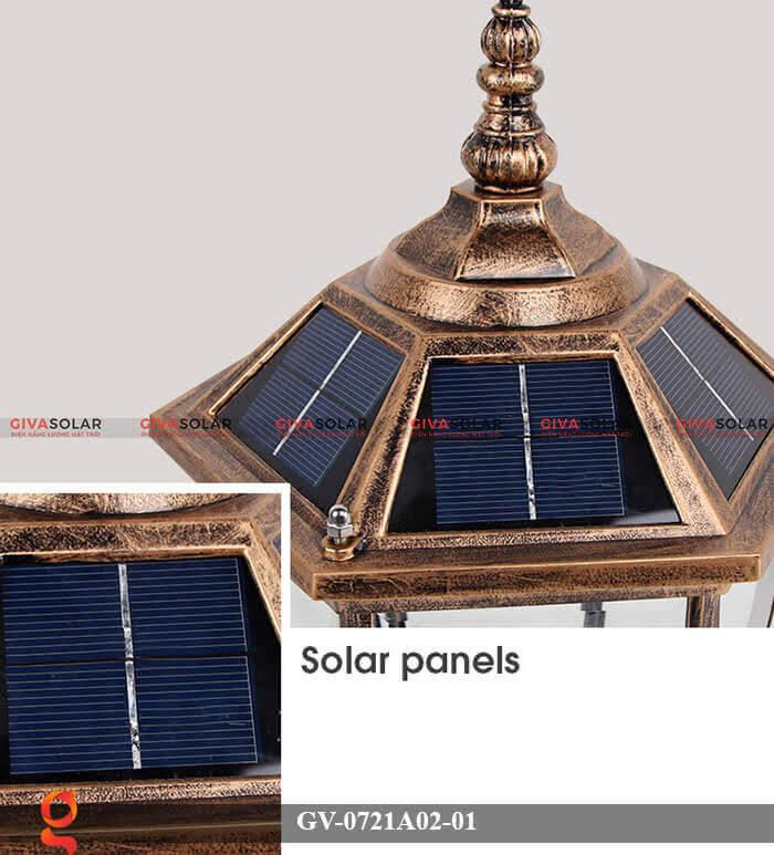 Đèn trụ cổng năng lượng mặt trời GV-0721A02-01 5