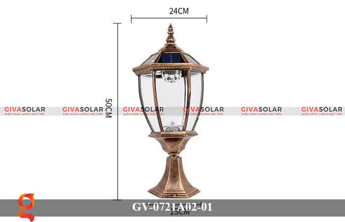 Đèn trụ cổng năng lượng mặt trời GV-0721A02-01 9