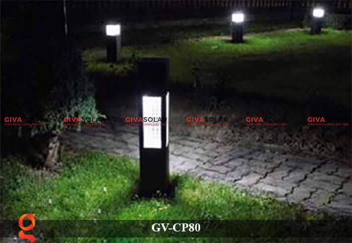 Đèn trang trí sân vườn cao cấp năng lượng mặt trời GV-CP80 3