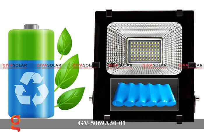 Đèn pha năng lượng mặt trời cao cấp GV-5069A30-01 8