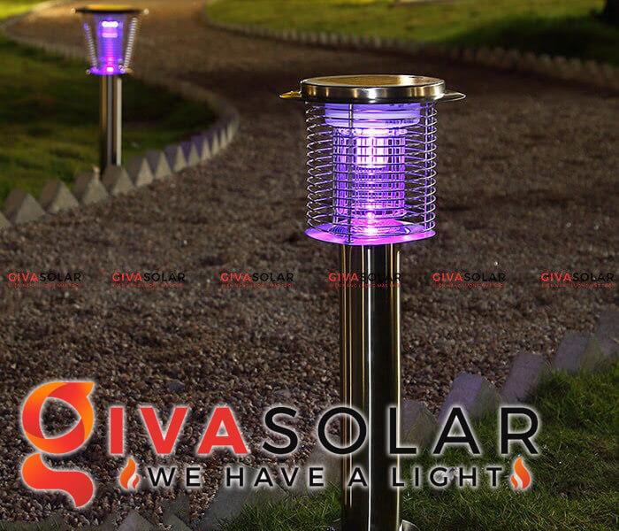 Đèn diệt trừ côn trùng năng lượng mặt trời