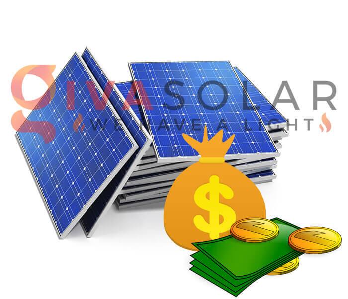 Đặt ngân sách trước khi mua tấm pin năng lượng mặt trời