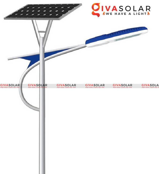 cấu tạo của đèn đường LED năng lượng mặt trời 1